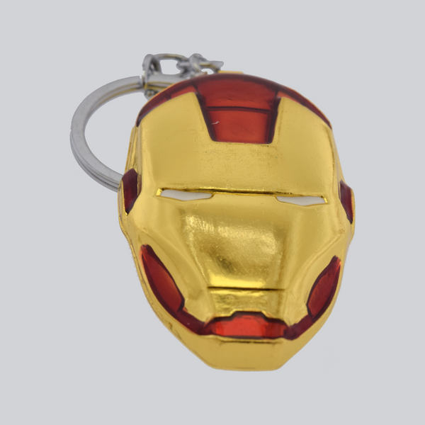 iron man key chain red