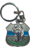 Saint Michael Key chain front