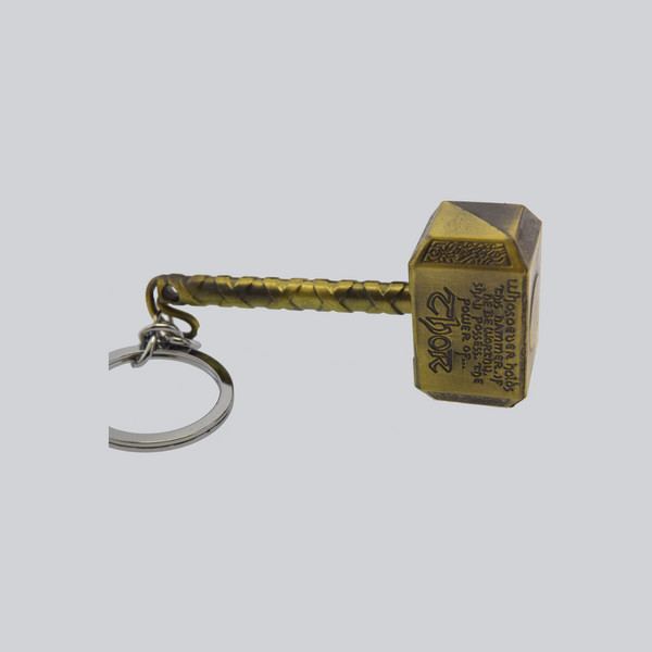 mighty thor hammer key chain