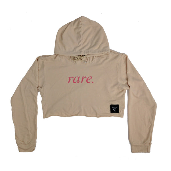 Rare Chillaxer Hooded Shirt - Creme