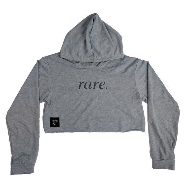 Rare Chillaxer Hooded Shirt - Ash Grey
