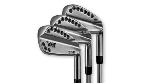 PXG 0311XF 8 pcs iron DEMO set