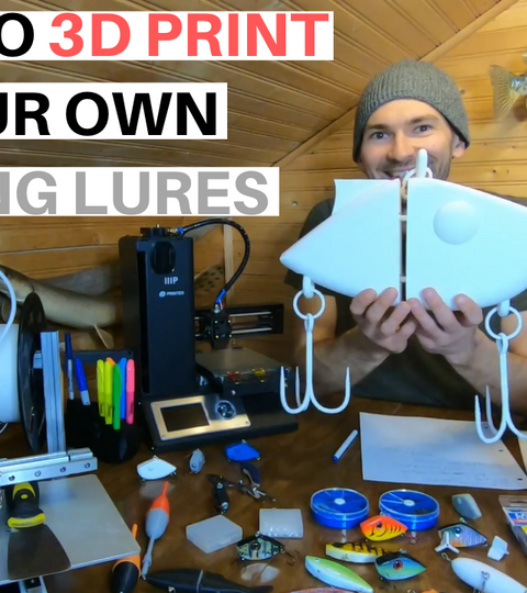 HOW TO 3D PRINT YOUR OWN FISHING LURES IN 3 STEPS