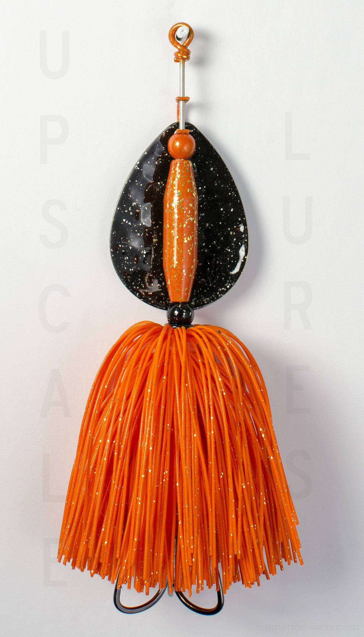 Nifty Fifty Spinner Bait Black/Orange 5.5 Inches