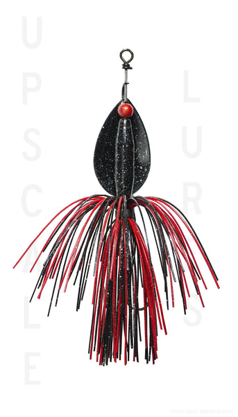 Bignormous Spinner Red/Black 5 inches-3/4oz
