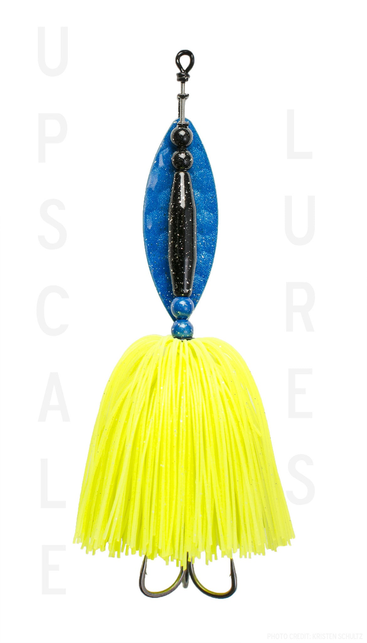 Nifty Fifty L Spinner Bait Blue/chartreuse