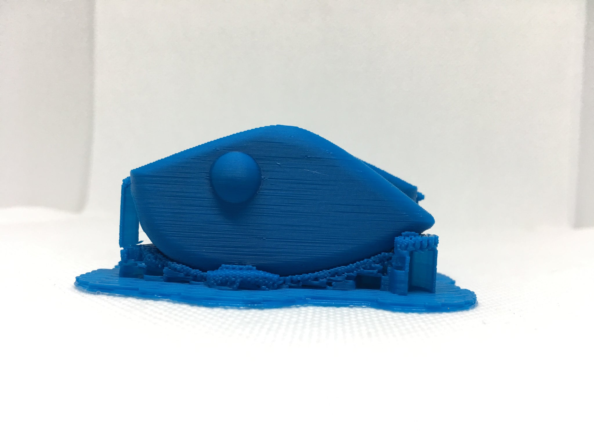 ADJUSTABLE WEIGHT LIPLESS CRANKBAIT BLANKS 3D PRINTED (BLUE)
