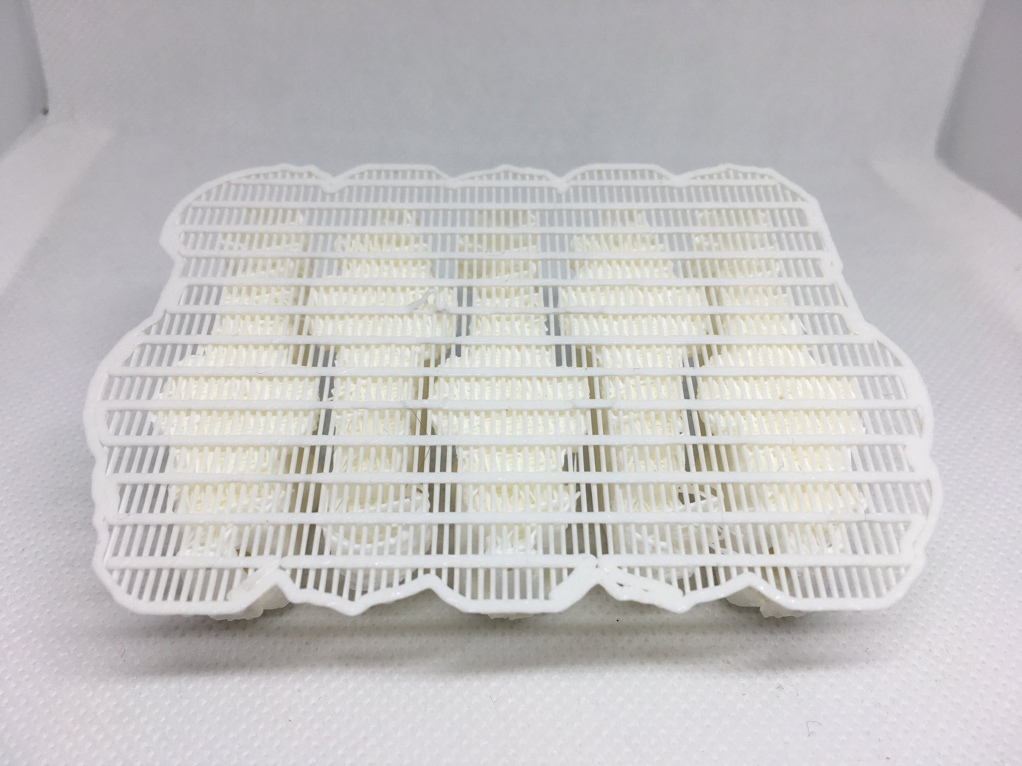 ADJUSTABLE WEIGHT LIPLESS CRANKBAIT BLANKS 3D PRINTED (WHITE)