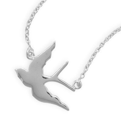 "17"" Soaring Swallow Necklace"
