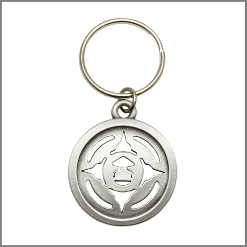 "3Realms ""Energy"" Ancient Symbol Key Ring - Pewter"