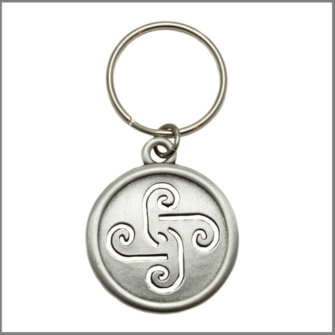 "3Realms ""Motherhood"" Ancient Symbol Key Ring - Pewter"