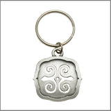 "3Realms ""Strength"" Ancient Symbol Key Ring - Pewter"