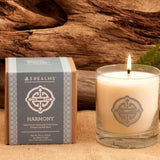 "3Realms ""Harmony"" Symbol Soy-Blend Candle (Scented), 8.5 ounces"