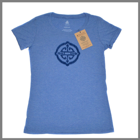 "3Realms ""Harmony"" Symbol Women's TriBlend Crew Neck T-Shirt"