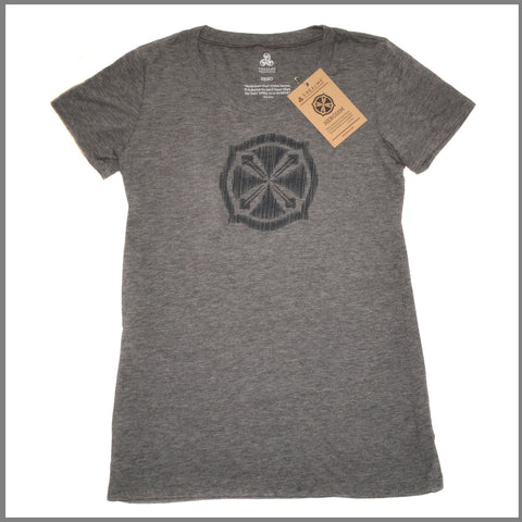 "3Realms ""Hero"" Symbol Women's TriBlend Crew Neck T-Shirt"