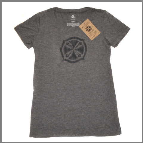 "3Realms ""Hero"" Symbol Men's TriBlend Crew Neck T-Shirt"
