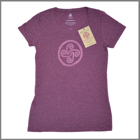 "3Realms ""Motherhood"" Symbol Women's TriBlend Crew Neck T-Shirt"