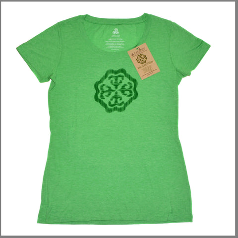"3Realms ""Protection"" Symbol Women's TriBlend Crew Neck T-Shirt"