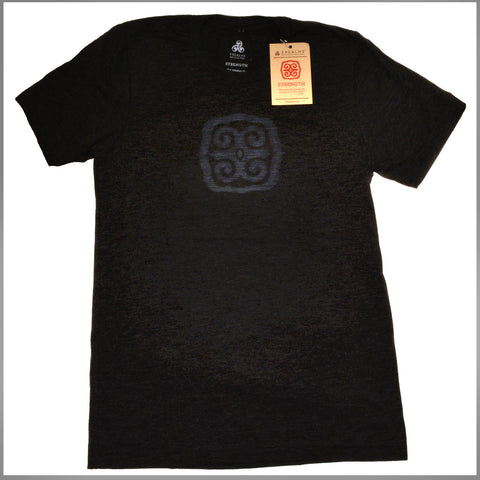 "3Realms ""Strength"" Symbol Men's TriBlend Crew Neck T-Shirt"