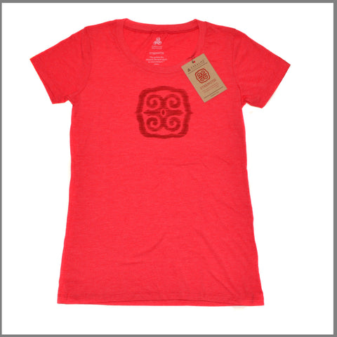 "3Realms ""Strength"" Symbol Women's TriBlend Crew Neck T-Shirt"