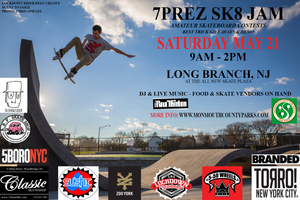 7PREZ SKATE JAM & CONTEST MAY 21ST 2016
