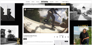 The Lockdown Promo Video Drops on Transworld Website 2020