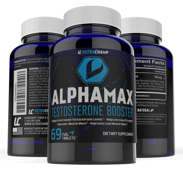 ULTRACHAMP ALPHAMAX TESTOSTERONE BOOSTER