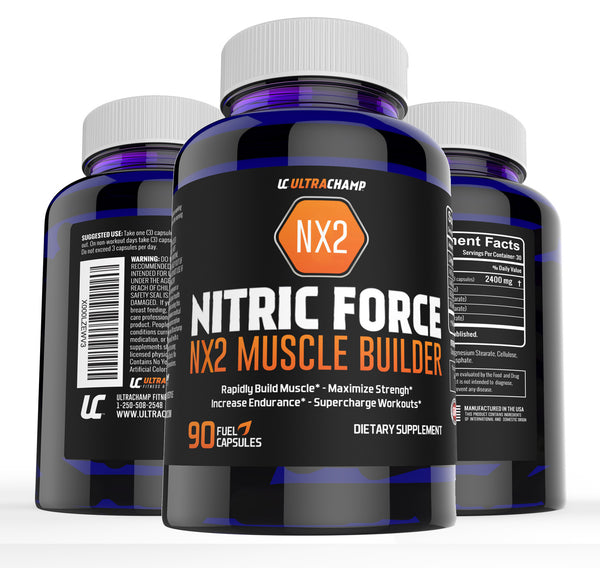 ULTRACHAMP NITRIC FORCE NX2 MUSCLE BUILDER
