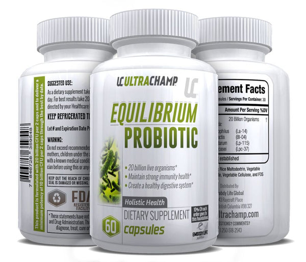 ULTRACHAMP EQUILIBRIUM PROBIOTIC