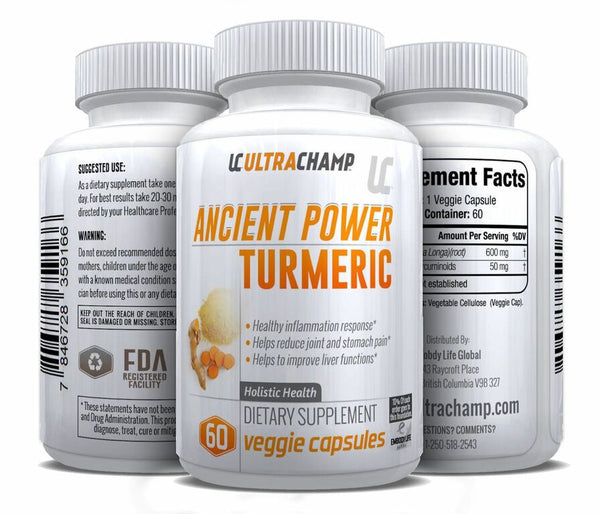 ULTRACHAMP ANCIENT POWER TURMERIC