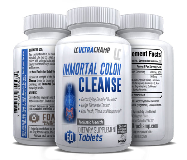 ULTRACHAMP IMMORTAL COLON CLEANSER