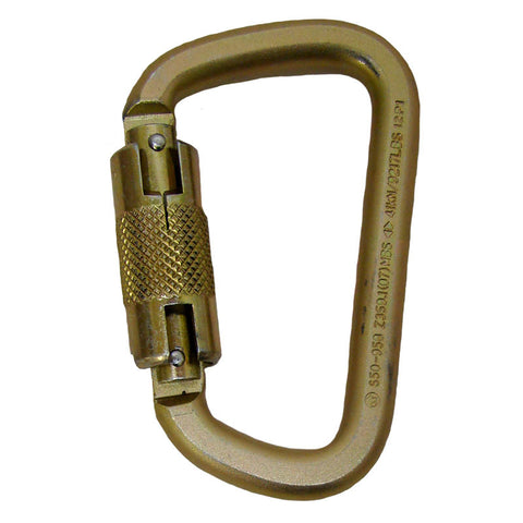 Steel Twist Lock Carabiner - 5005T