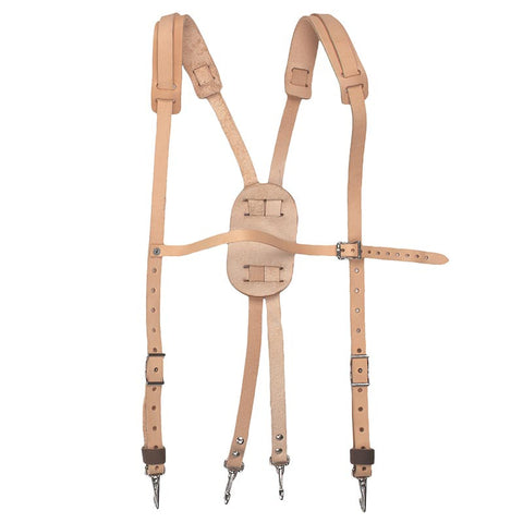 LEATHER SUSPENDER - 6258