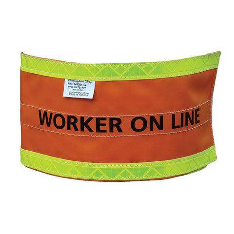 WORKER ON LINE MARKER - 8453O1-45