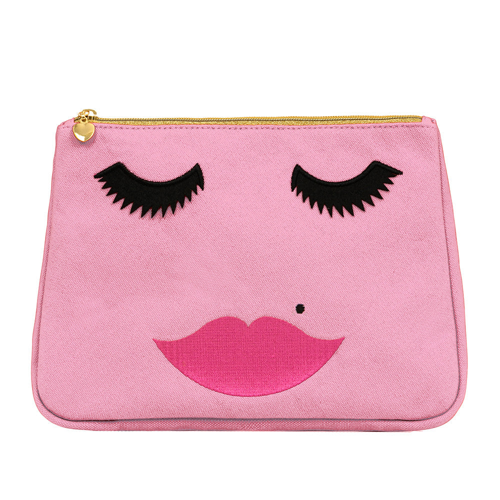 Lovely Lashes Make-up Bag Pink