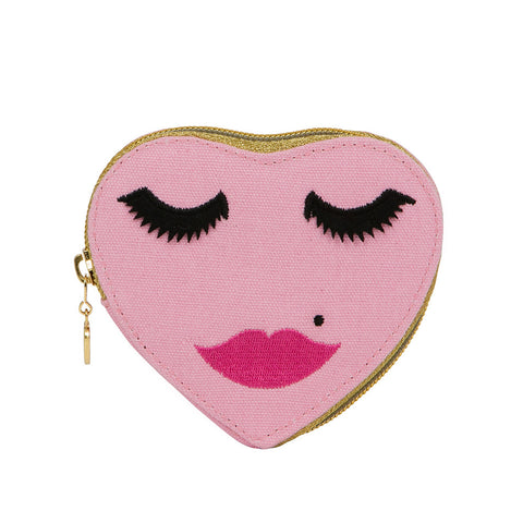 Lovely Lashes Purse Pink