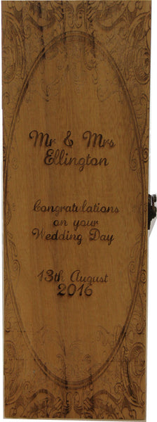 Personalised Engraved Bottle Box