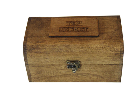 Top Secret Keepsake Chest