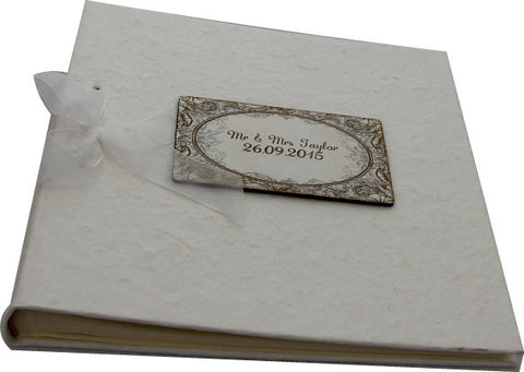 Personalised Photo Album - Wedding/Christening