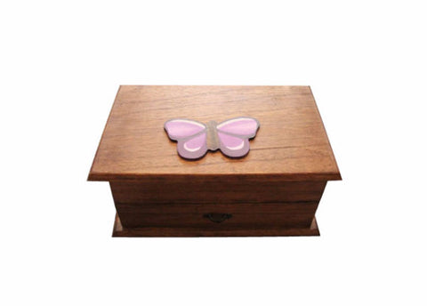 Butterfly Jewellery Box - hand painted personalized girls birthday, christmas, christening