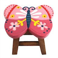 Children's stool - Butterfly