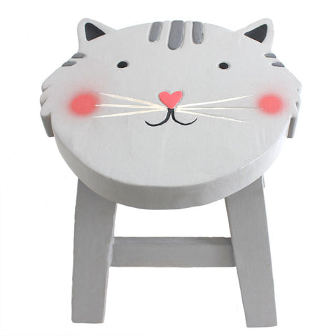 Children's Stool - Cat