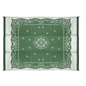 9'X12' OUTDOOR MAT-GREEN