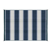 6'X9' OUTDOOR MAT-BLUE ST
