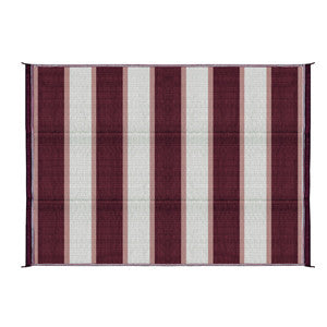 6'X9' OUTDOOR MAT-BURGUND