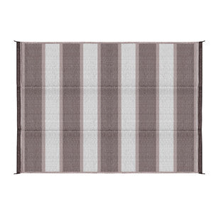 6'X9' OUTDOOR MAT-CHARCOA