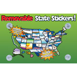 REMOVABLE STATE STICKERS