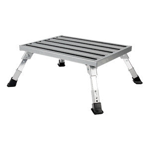 STEP STOOL  ALUM PLATFORM