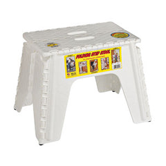 12_ STEP STOOL - WHITE