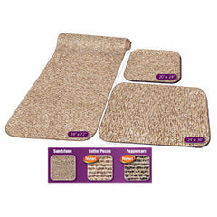 3PC RV RUG SET-BUTTER PEC